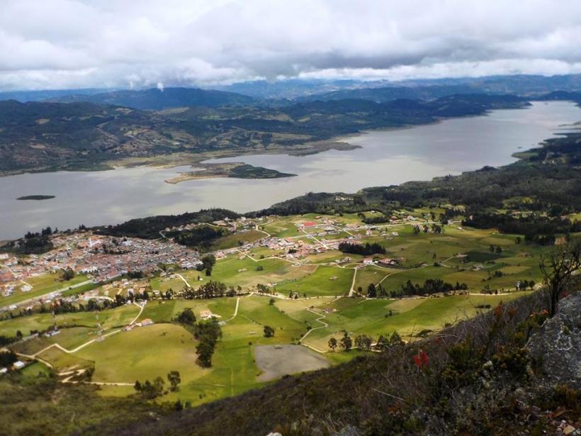 Foto de Guatavita, Cundinamarca en Colombia